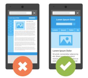Google's Position on Mobile Friendly Websites