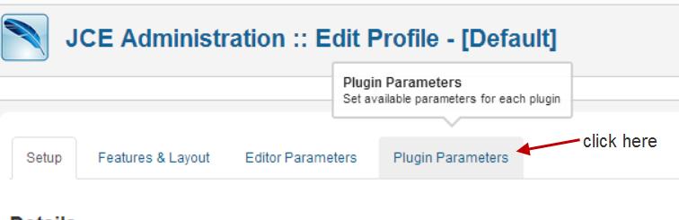 jce-editor-profiles-plugin-parameters
