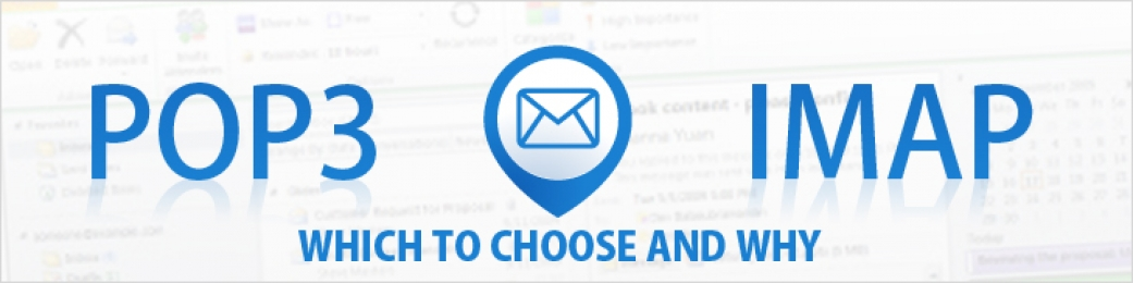 IMAP or POP3 Email Accounts