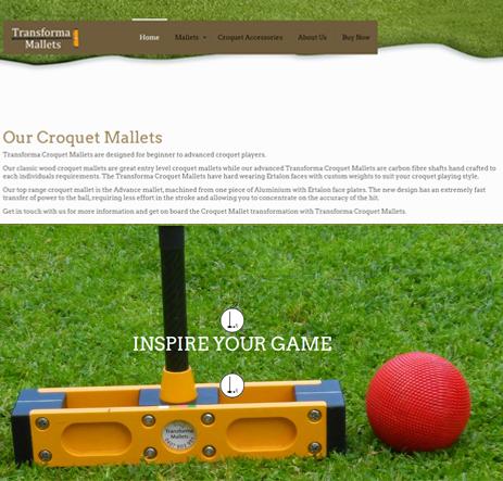 Transforma Croquet Mallets